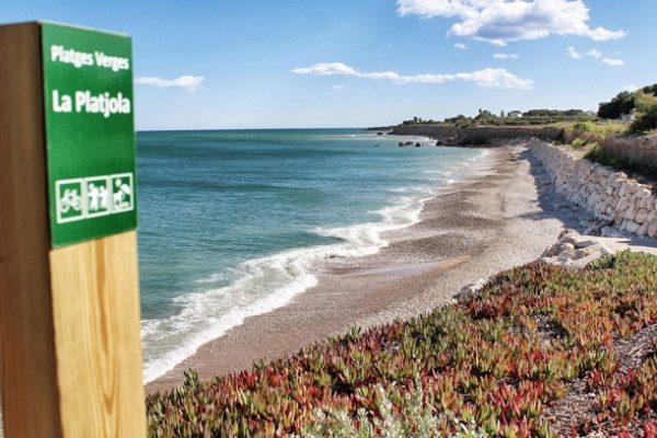 Playa para perros en Alcanar