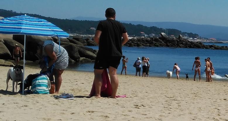 Playa para perros O Espiño en O Grove
