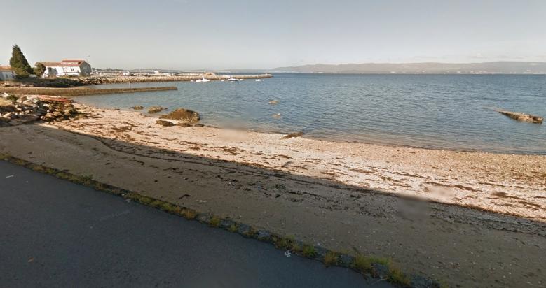 playa para perros O Castelete en Pontevedra