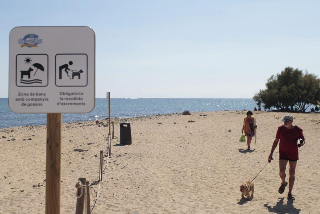 playa para perros de Cambrils