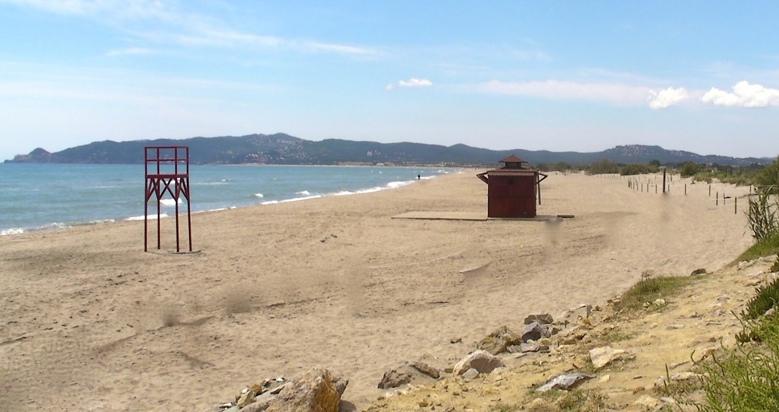 Playa para perros els Griells en l'Estartit