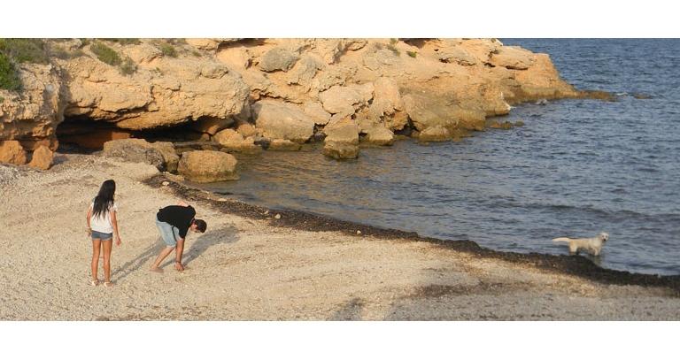 Playa Bon Caponet para Perros en Ametlla de Mar