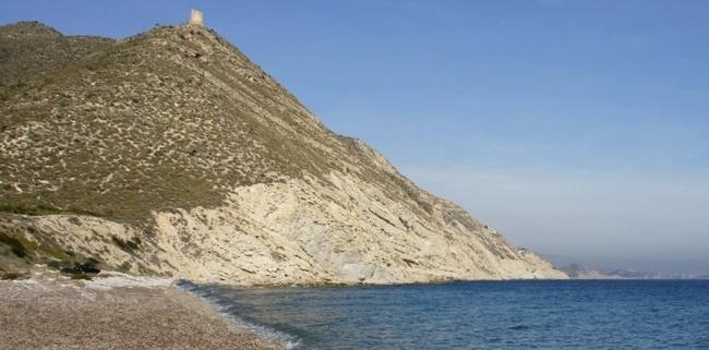Playa para perros del Barranc en Campello