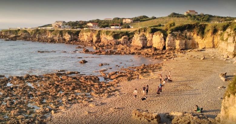 Playa para perros El Rinconín en Gijón Asturias