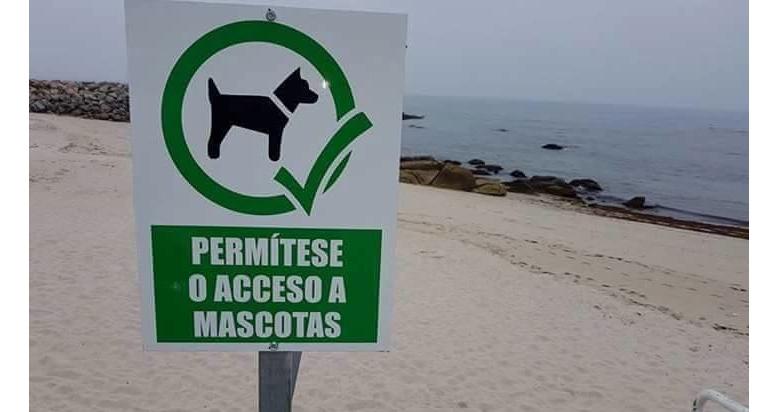 Arenal de Penoural para perros en Burela