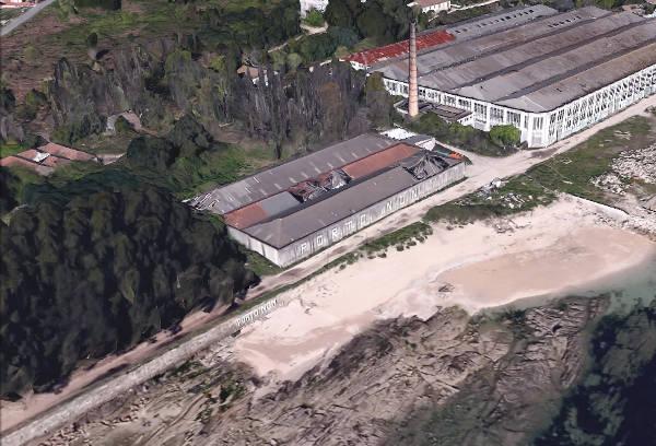 Playa Cunchiña para perros en Cangas